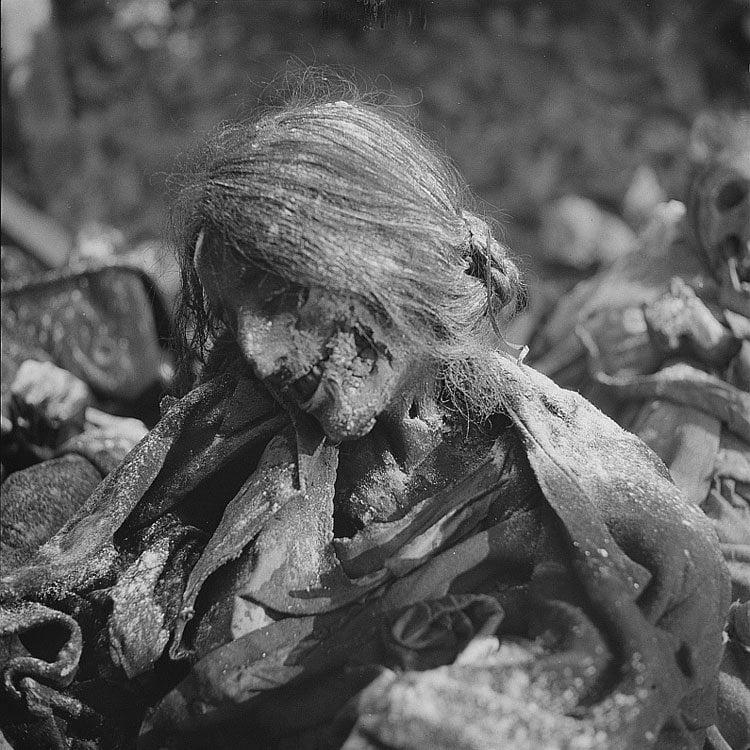 Mummified Woman