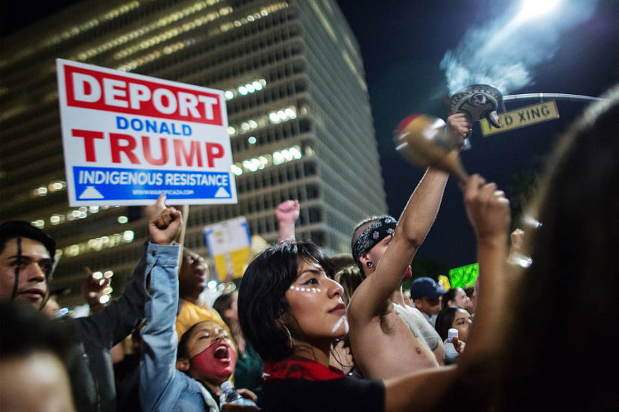 Native Americans Against Trump