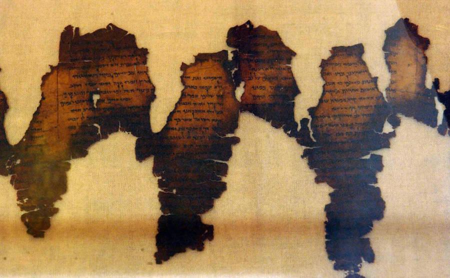 New Dead Sea Scroll Cave
