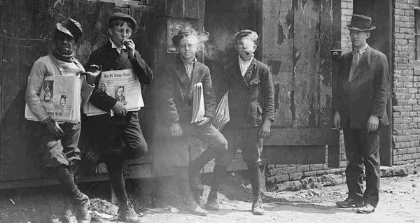 Kids Smoking Vintage Photos Of Children Puffing On Cigarettes