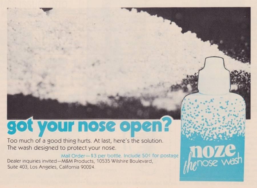 Noze Wash