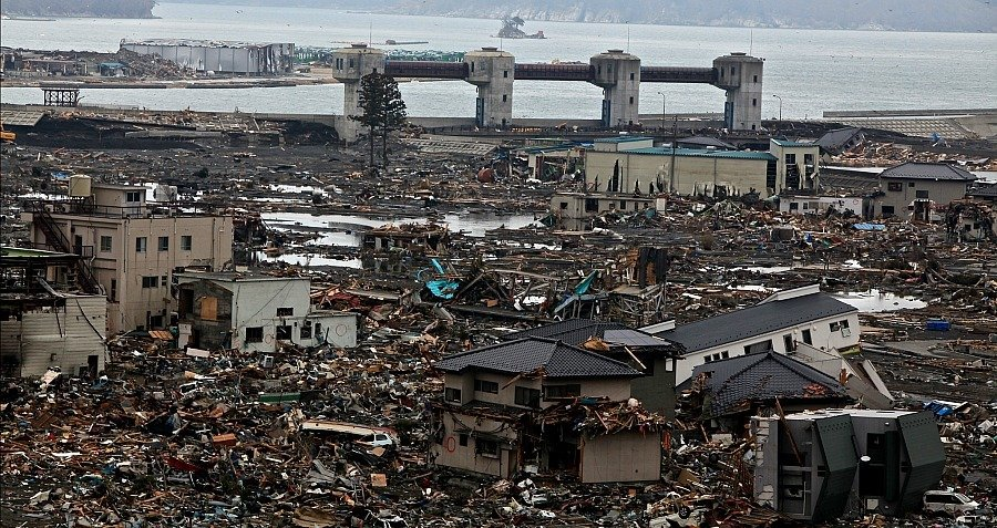 Otsuchi Japan Tsunami Disaster Phone Booth