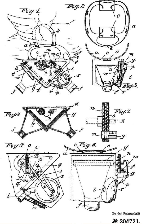Patent Pigeon Camera Diagrams
