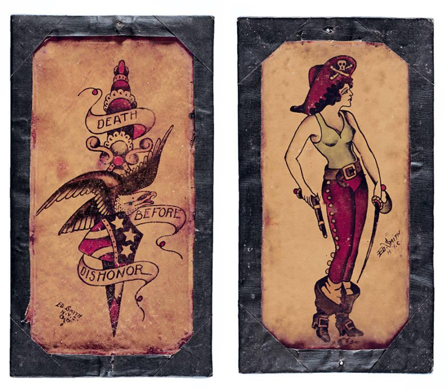 Pirate Vintage Tattoo Flash