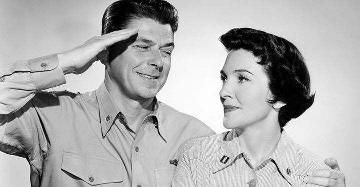 Ronald Reagan With Nancy