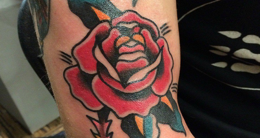 Rose Tattoo Maud Wagner Female Tattoo
