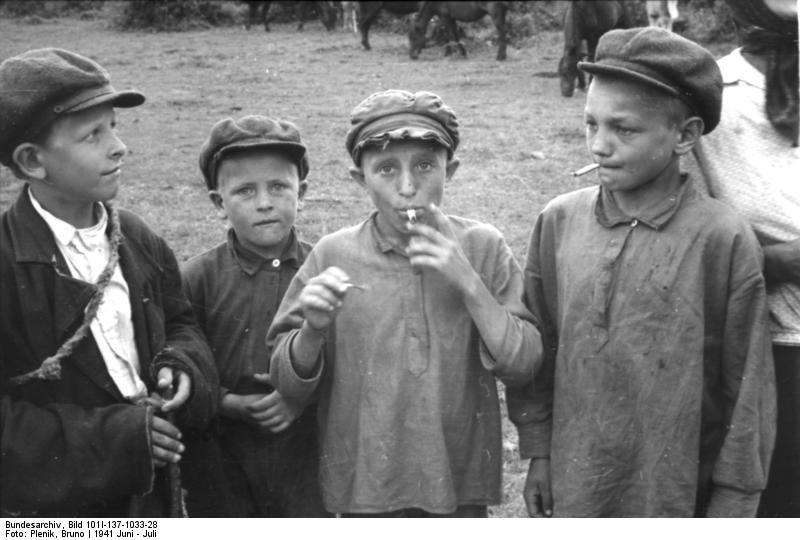Russian Boys Smoking