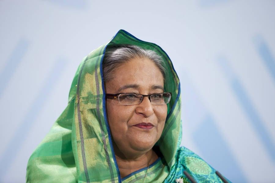 Sheikh Hasina Green