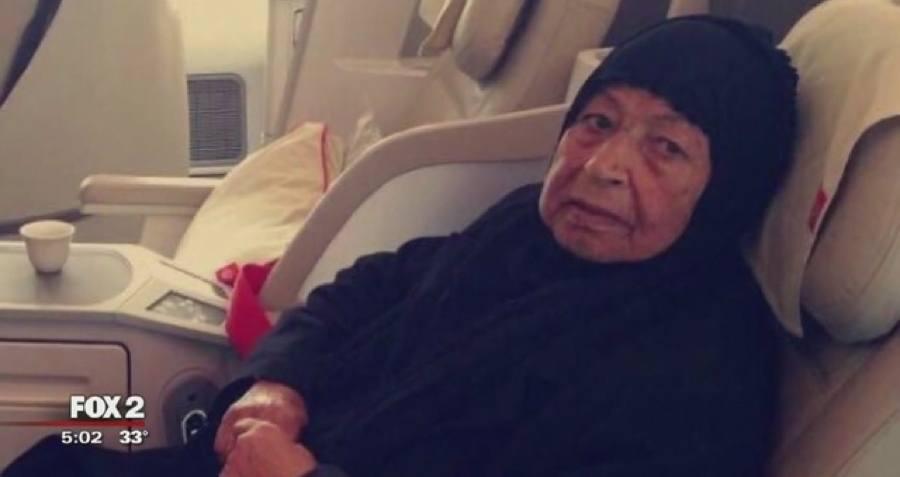 Sick Woman Plane
