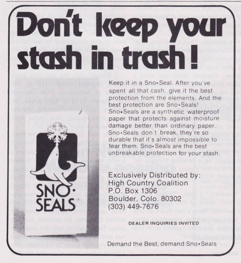 Sno Seals