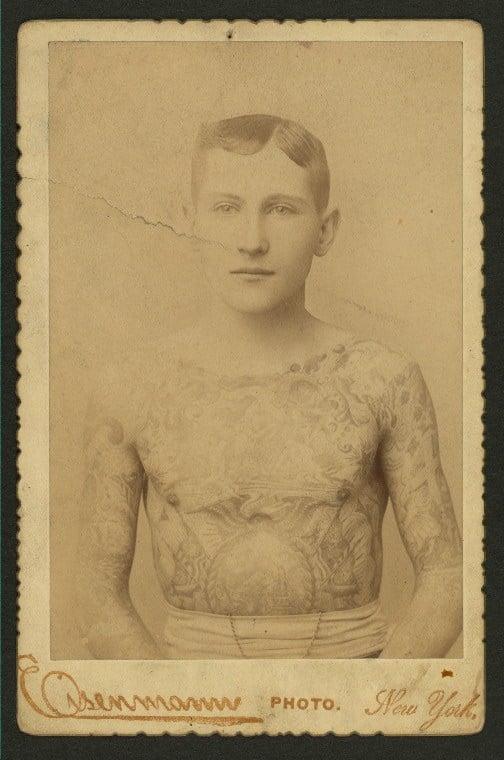 Tattooed Boy Sidonia