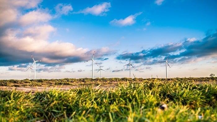 Wind Farm Clouds