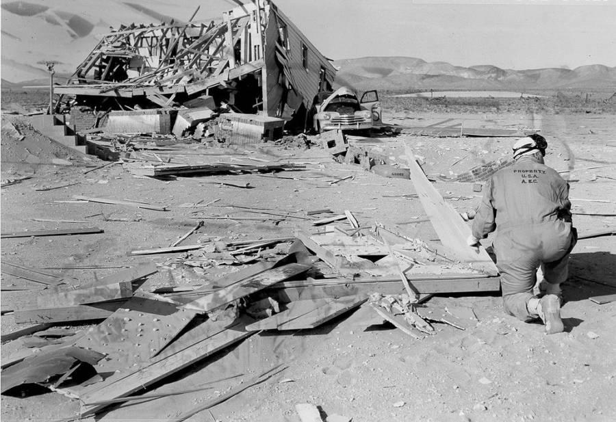 Wooden Wreckage