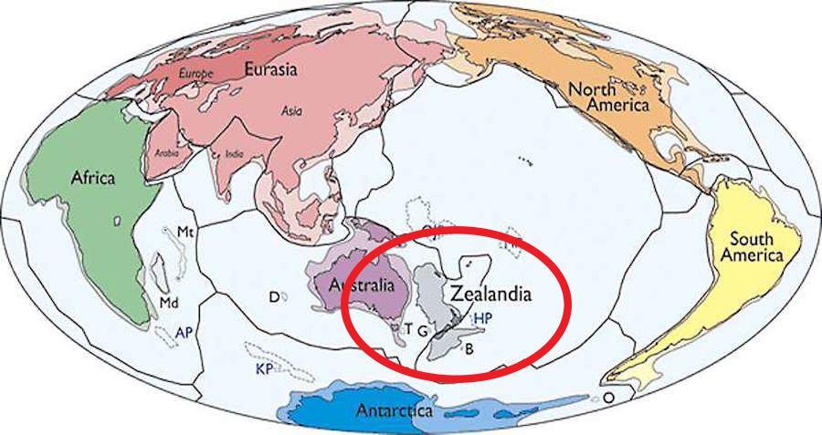 Scientists Find New Continent Near Australia
