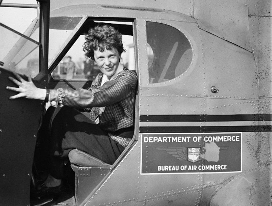 Amelia Earhart Door