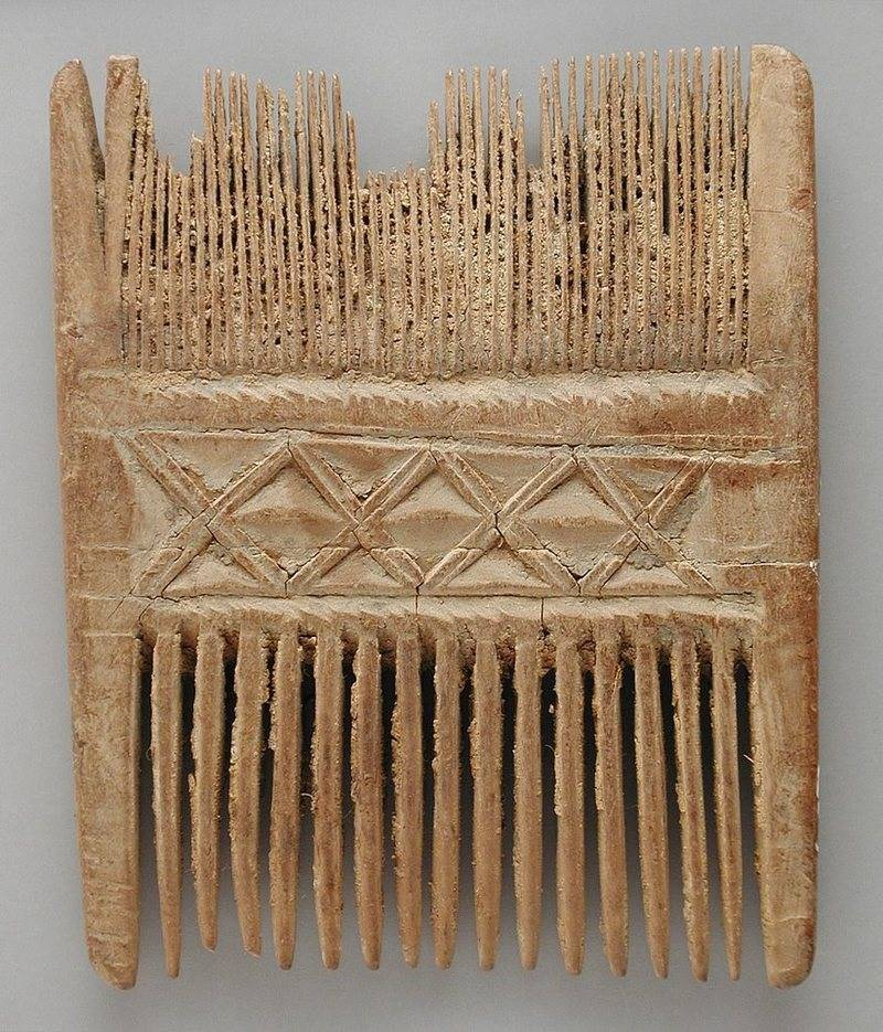 Ancient Delousing Combs