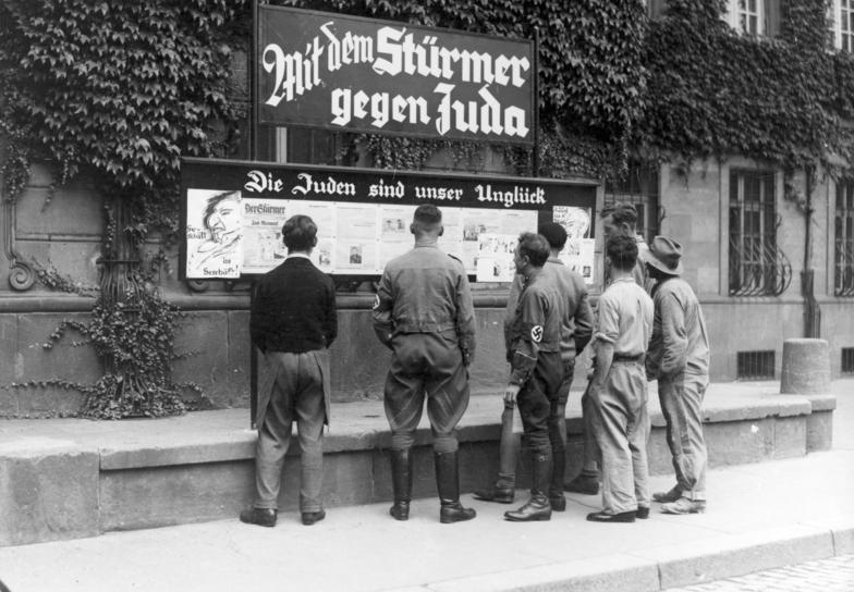 Anti Semitic Sign