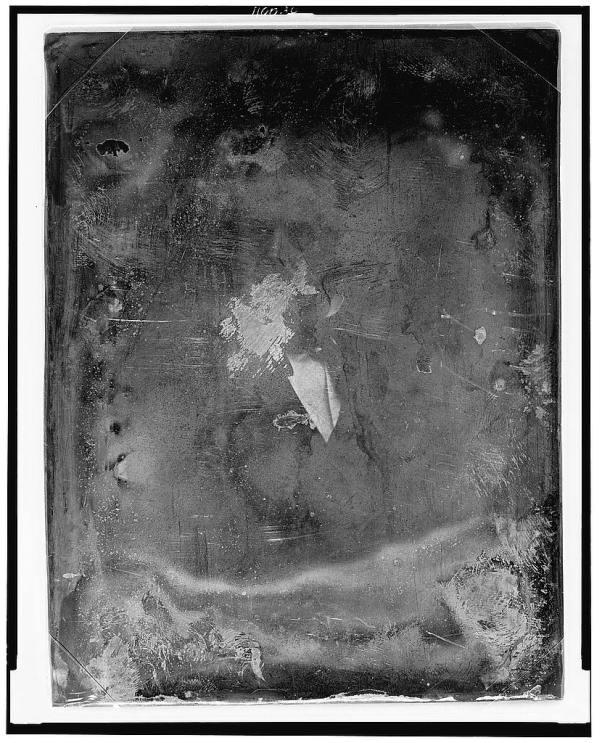 Benjamin French Half Length Daguerreotype