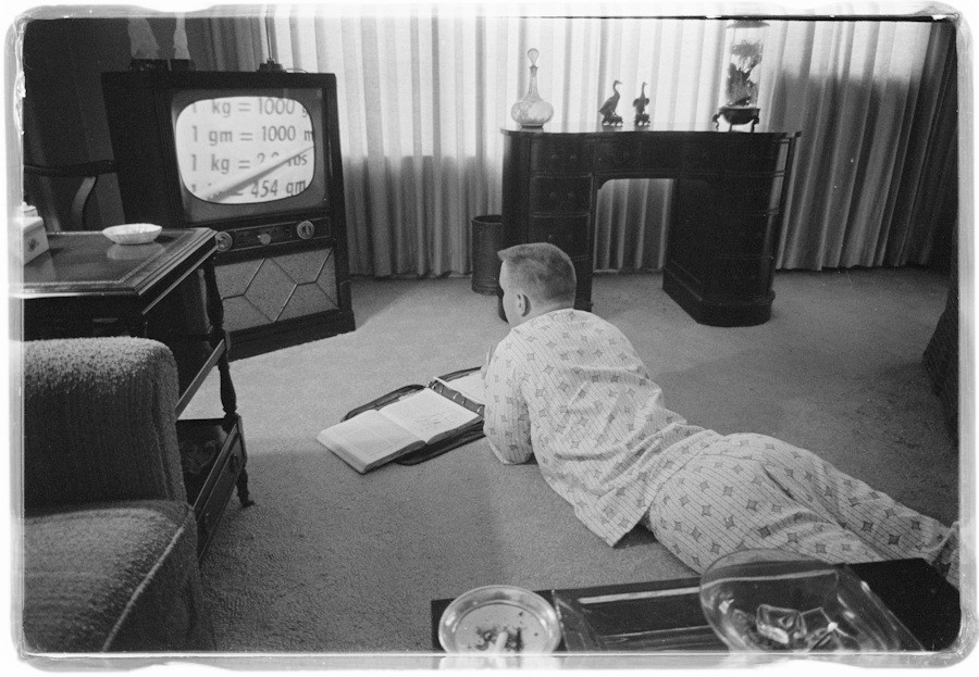 Boy Educated By Television