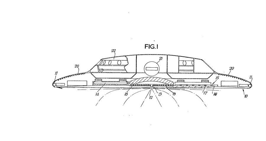 flying saucer patents pictures to pin on pinterest