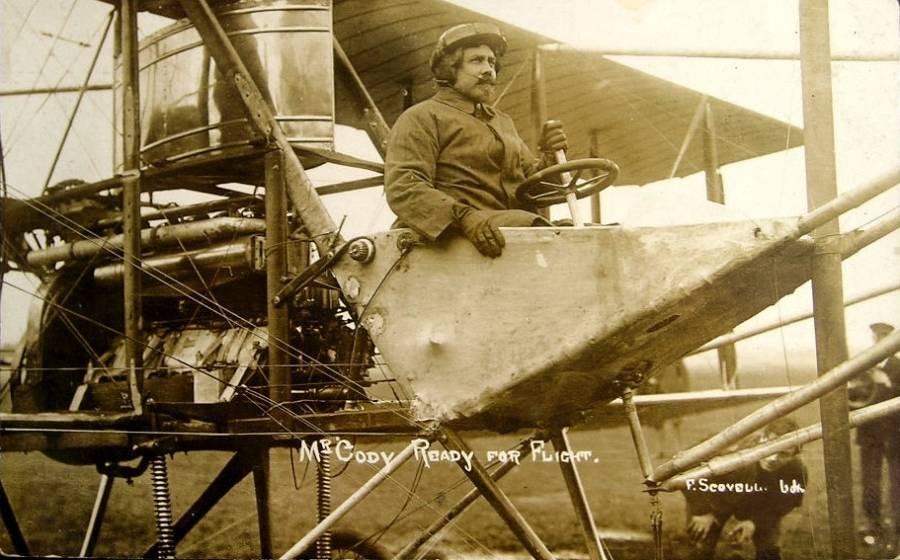 Cody In Cockpit