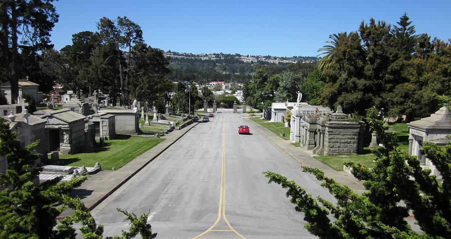 Colma Cemetery Road