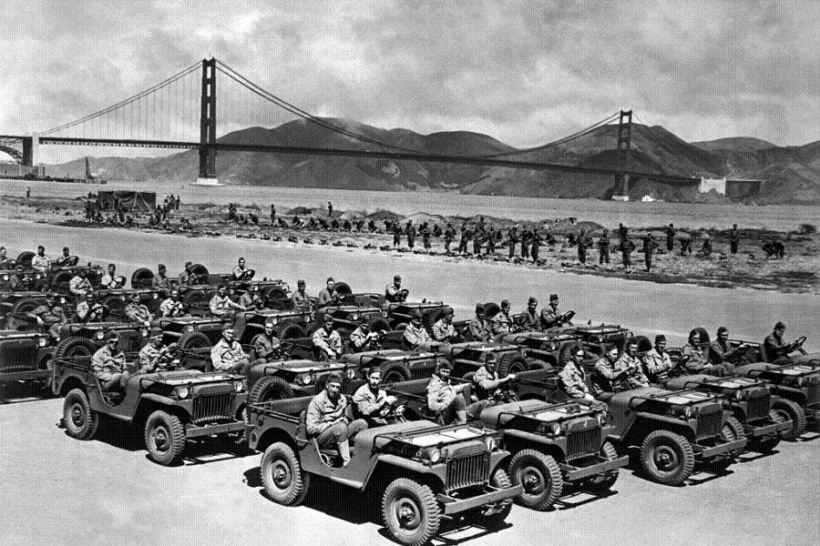 San Francisco During World War 2