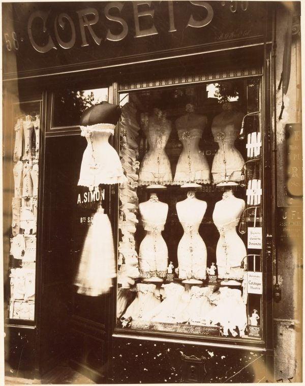 Corsets Shop Storefront