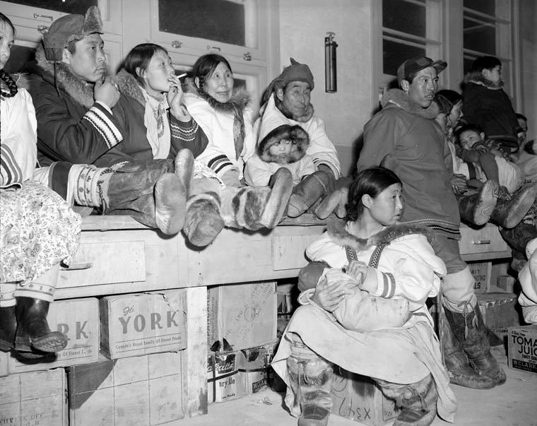 Crowd Of Inuit