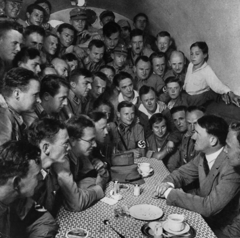 Crowding Around Table