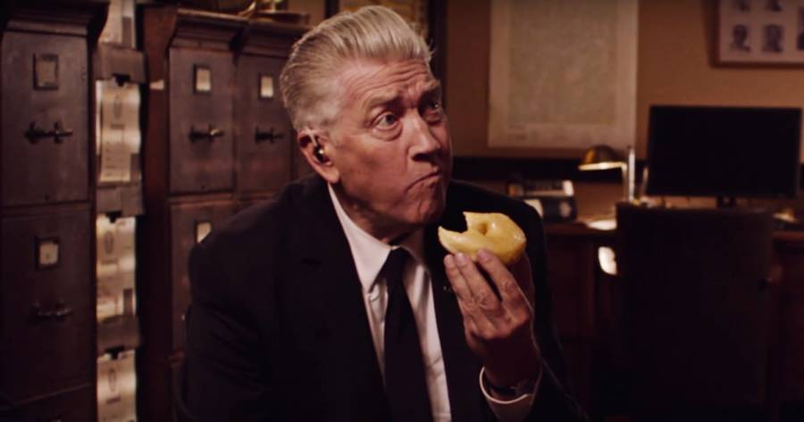 David Lynch Eating