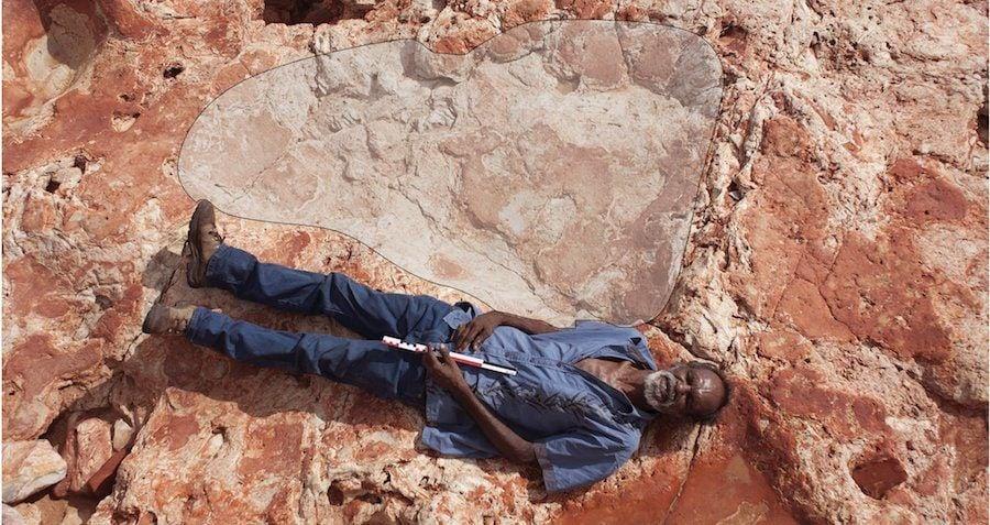 World's Largest Dinosaur Footprint
