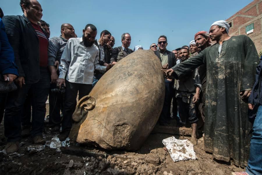Egypt Statue Men