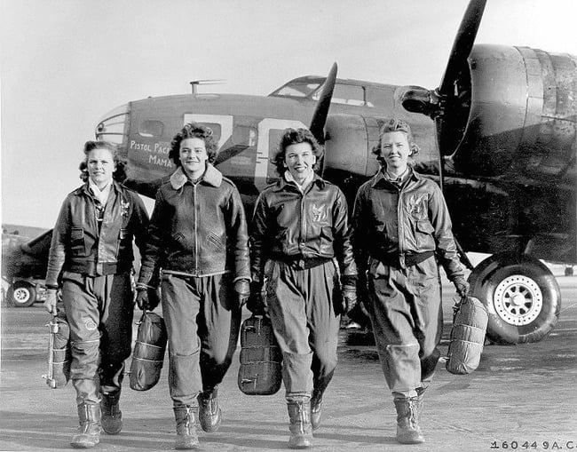 Female Pilots Jackets