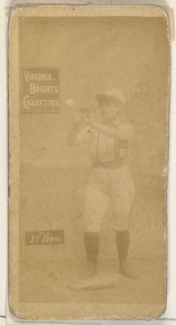 First Base Catching Baseball Girl