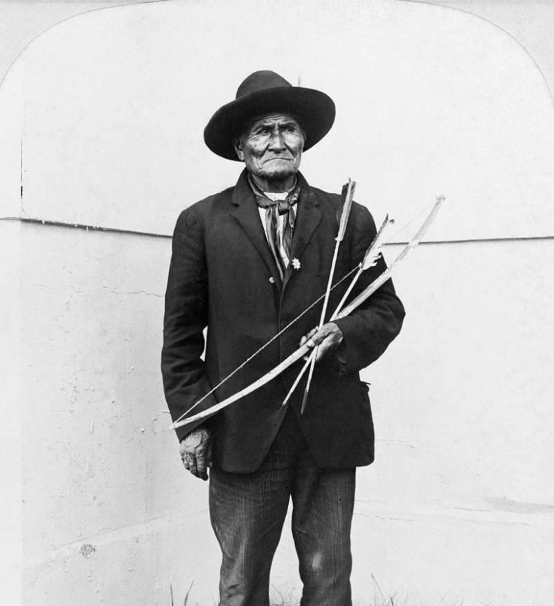 Geronimo On Display