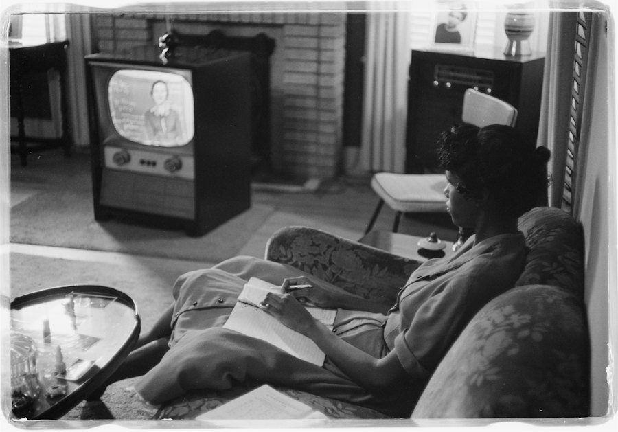 Girl Educated By Television