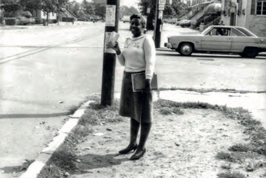 Girl Street Corner