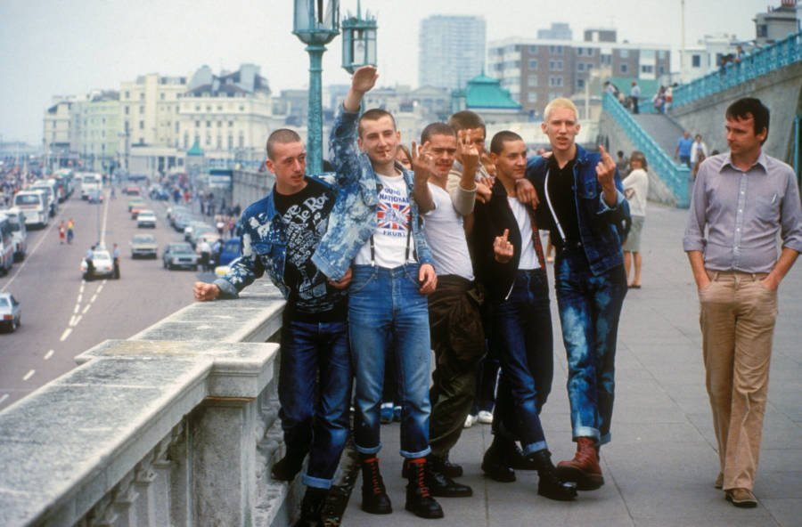 Group Of Skinheads