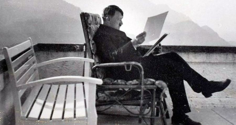 Hitler In Chair