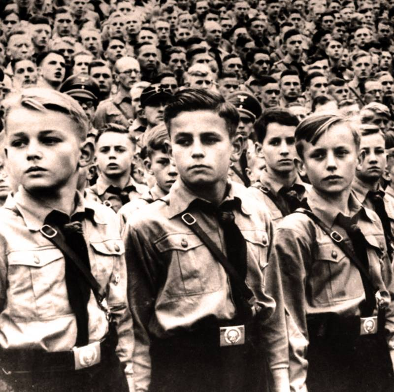 Hitler Youth Parade