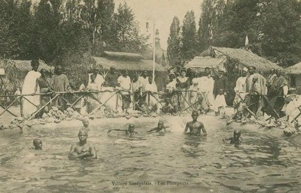 Human Zoos Village Senegalais