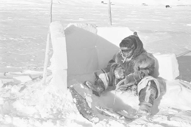 Ice Fishing 1949