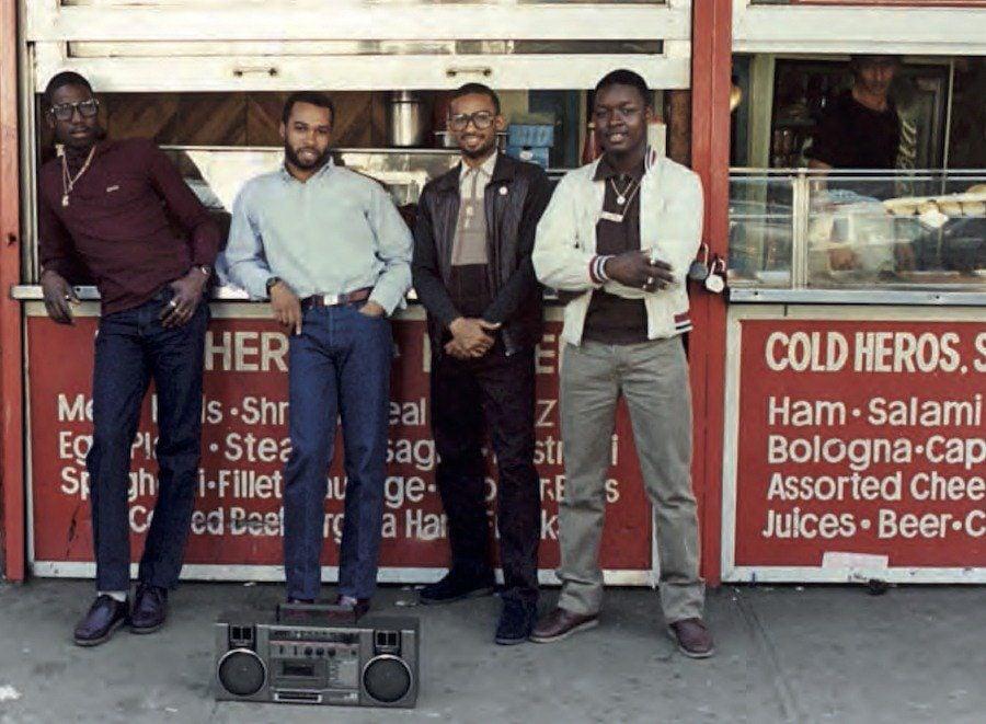 Jamel Shabazz Boombox