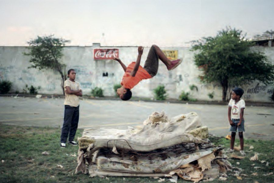 Jamel Shabazz Mattress Jump