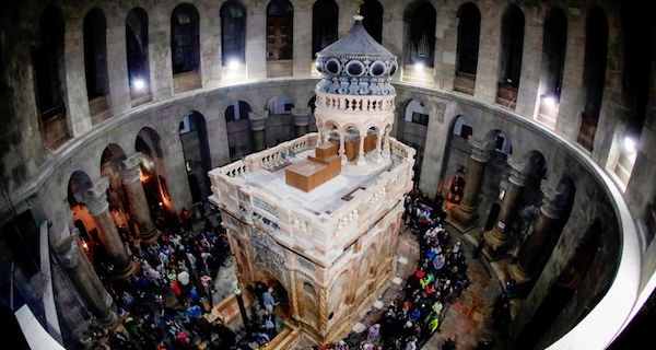 After $4 Million Restoration, Jesus' Tomb Is Open But Not Good As New