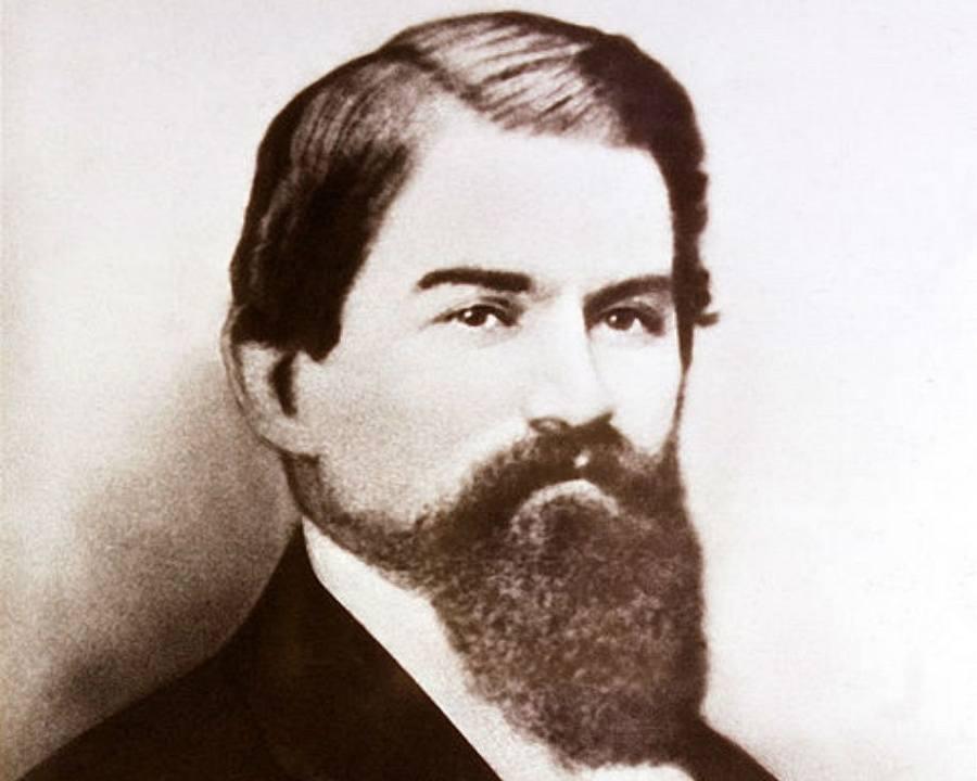 John Pemberton Portrait Beard
