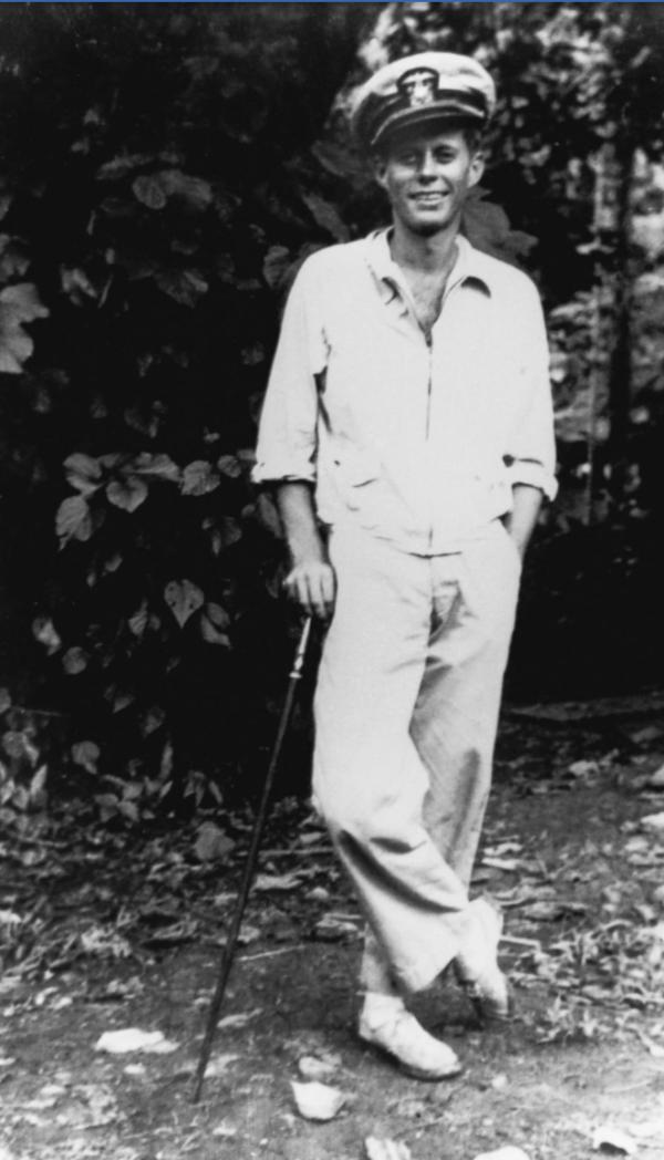 John F. Kennedy in 1944