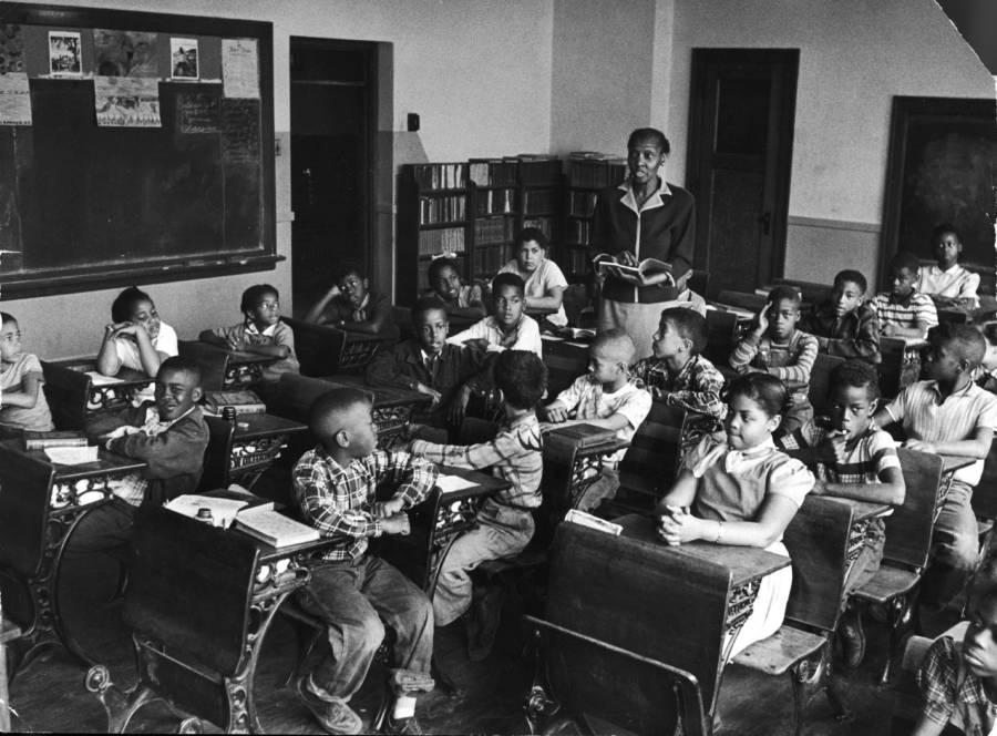 Linda Brown In Class