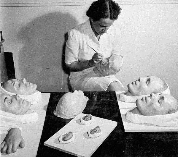 Making Plaster Masks